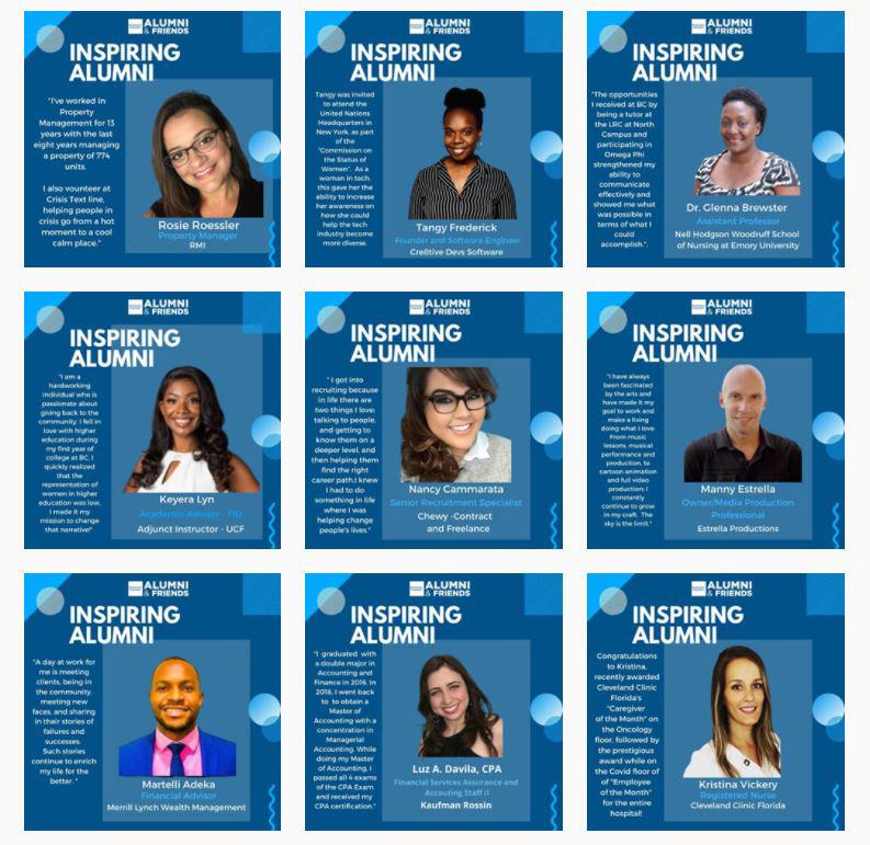 Inspiring Alumni September 2020